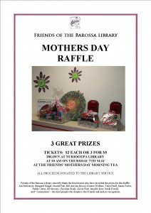 Mother's Day Raffle Poster 2015
