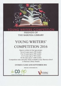 Young Writers Poster